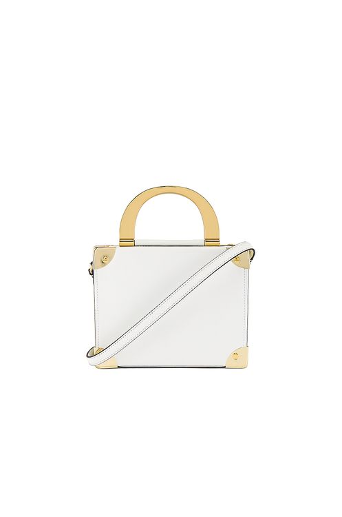 ZAC Zac Posen Biba Buckle Top Handle Box Crossbody
