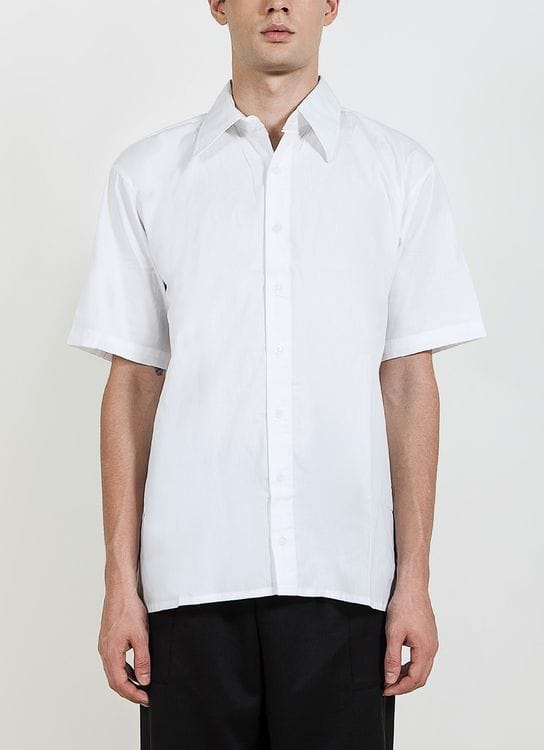 Gavi Button Up Shirt - White