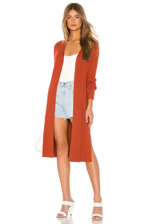 525 America Ribbed Cardigan Duster
