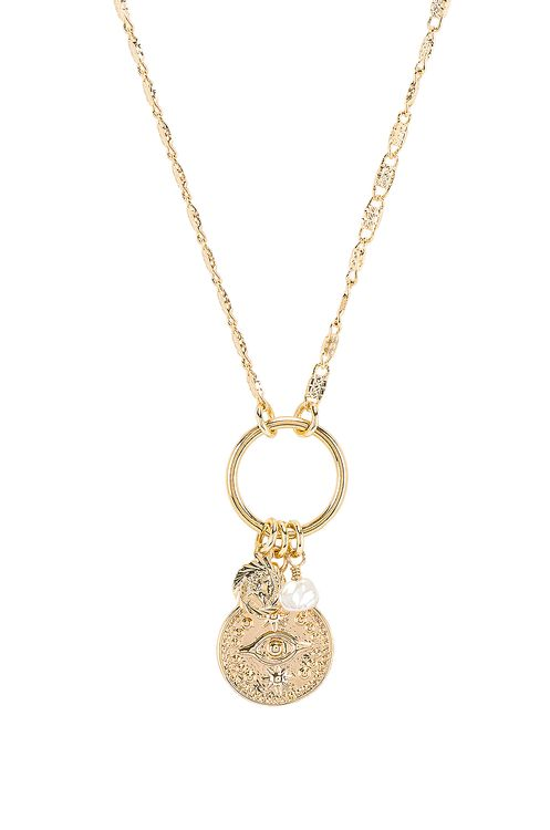 Natalie B Jewelry Good Fortune Necklace