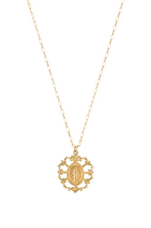 Natalie B Jewelry Sacred Mary Necklace