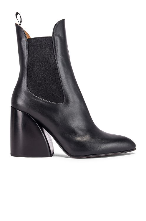 Chloé Leather Ankle Booties
