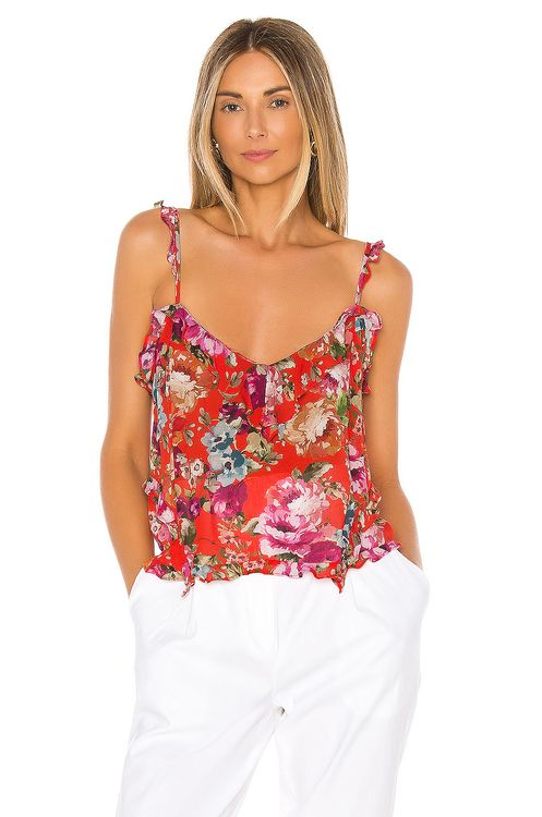 ICONS Objects of Devotion Ruffle Teddy Cami