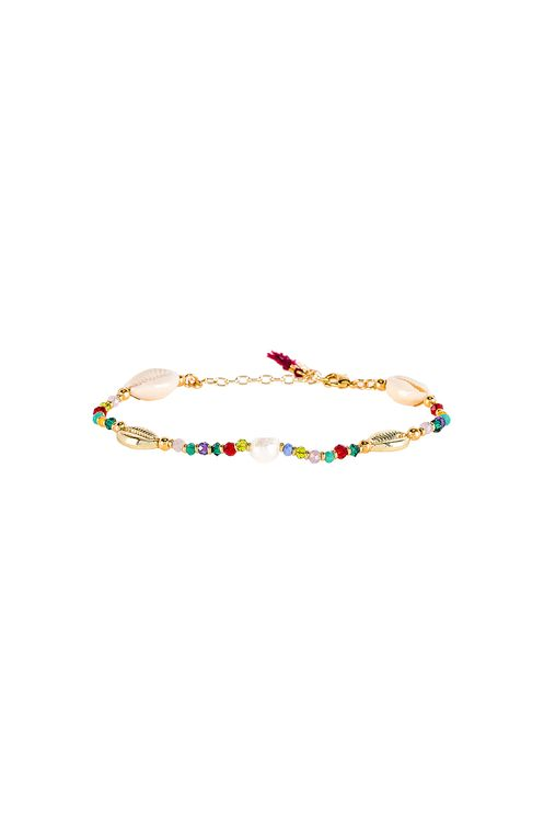 Shashi Pacific Shell Clasp Bracelet