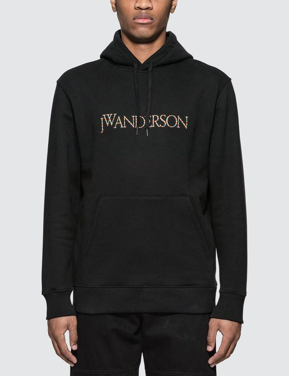 J.W.Anderson Embroideried Logo Hoodie