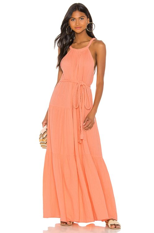 APIECE APART Escondido Tiered Dress