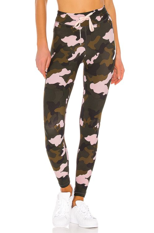 The Upside Forest Camo Midi Pant