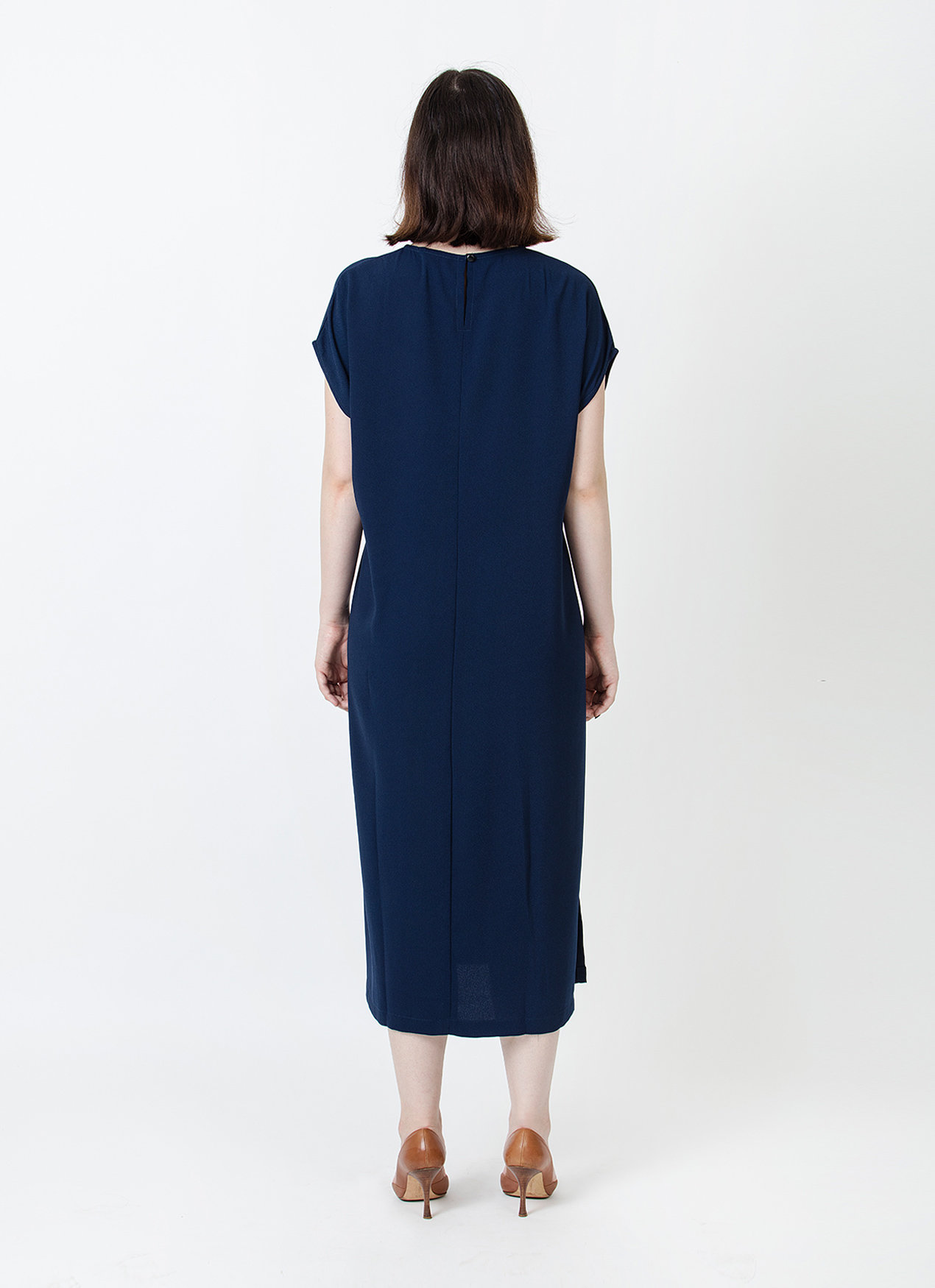 Wastu Parachute Dress - Navy