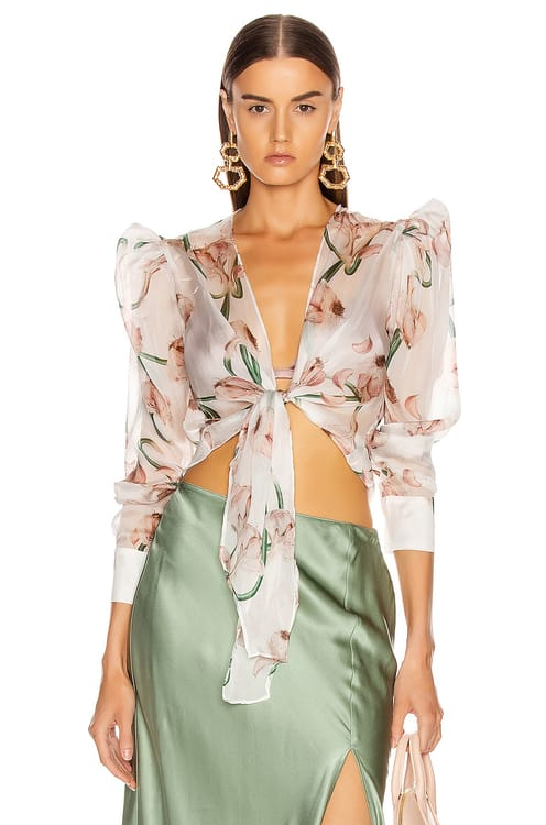 Adriana Degreas Tied Aglio Shirt