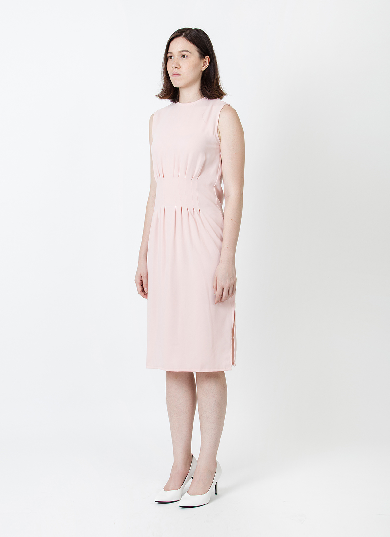 Wastu Cupolla Hourglass Dress - Pink