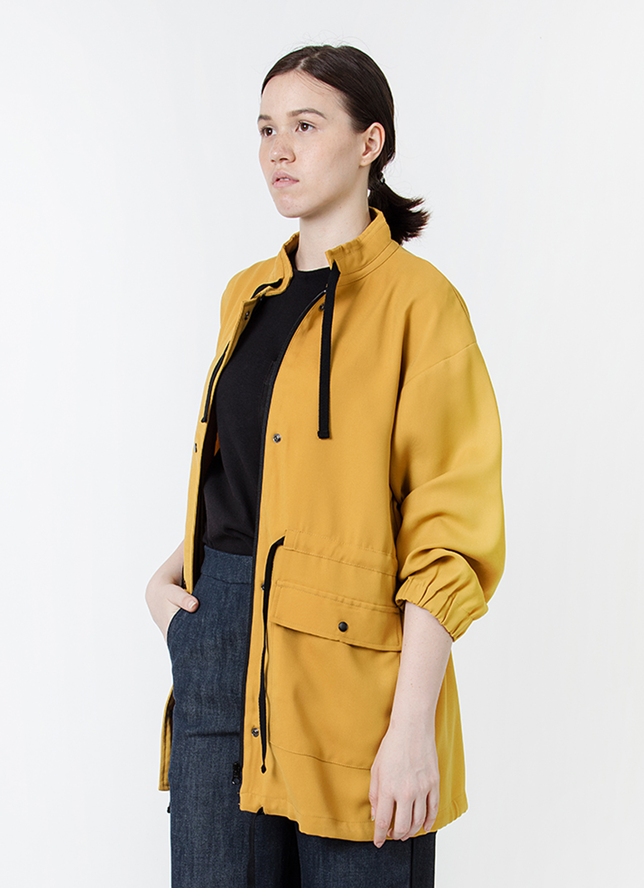 Wastu Soft Parka Jacket - Yellow