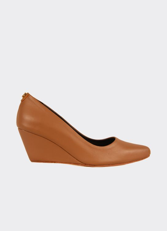Ella & Glo Lola Wedges - Light Tan