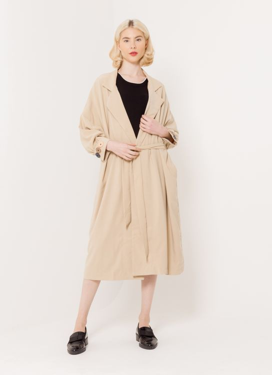 BOWN Silbel Coat Dress - Apricot