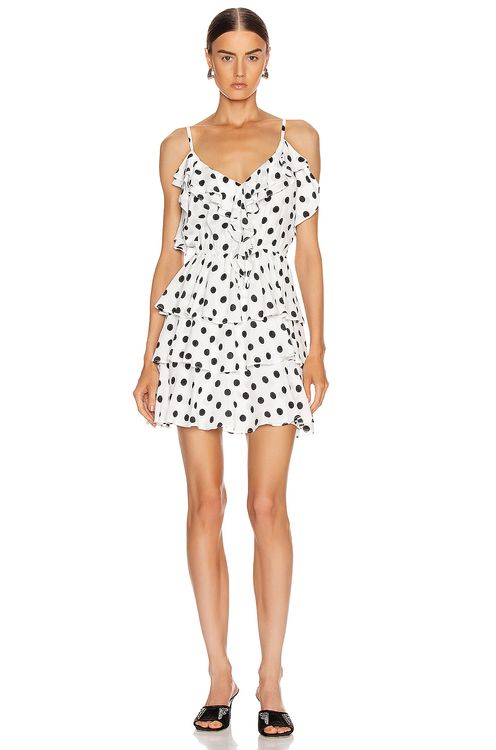 ICONS Objects of Devotion Ruffle Stacked Mini Dress