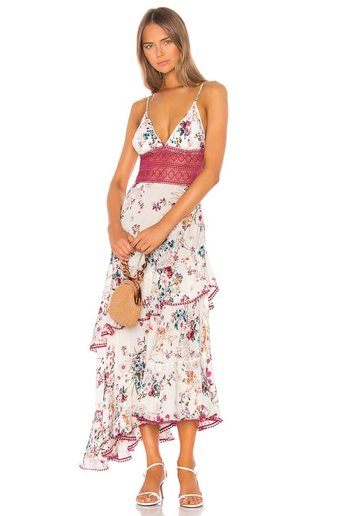 Charo Ruiz Ibiza Noa Floral Long Dress