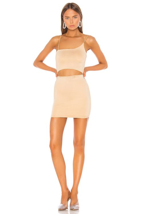 super down Raven Cut Out Dress
