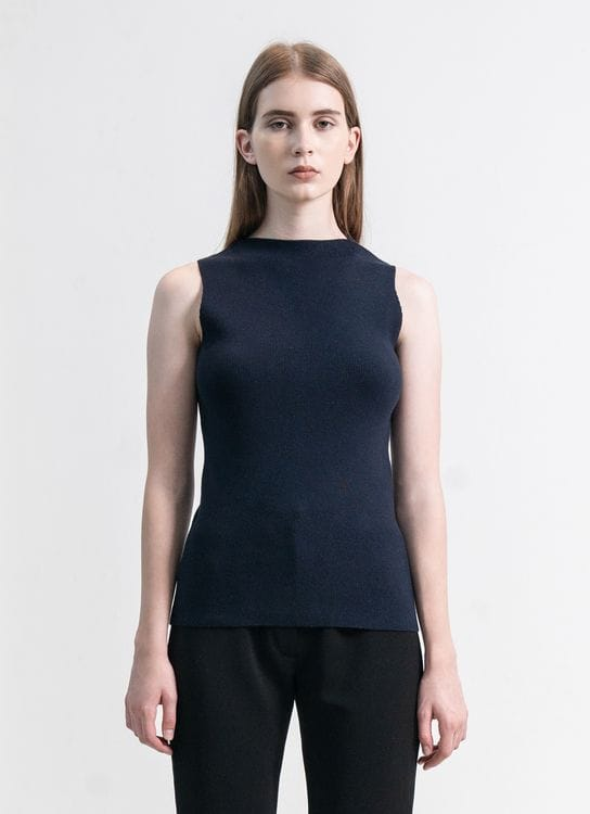 Clemence Goni Top - Navy