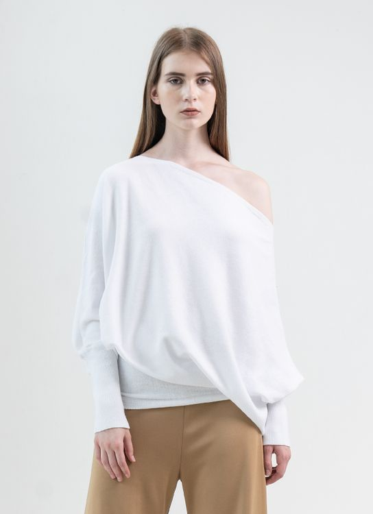 Clemence Arra Top - White
