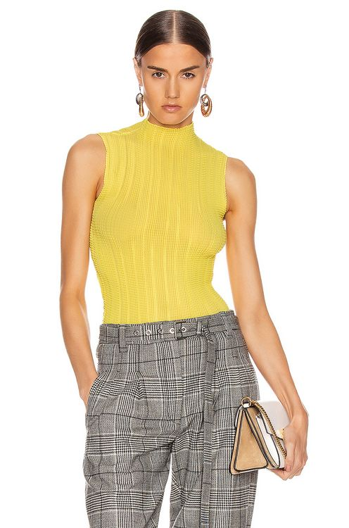 Givenchy Pleated Sleeveless Top