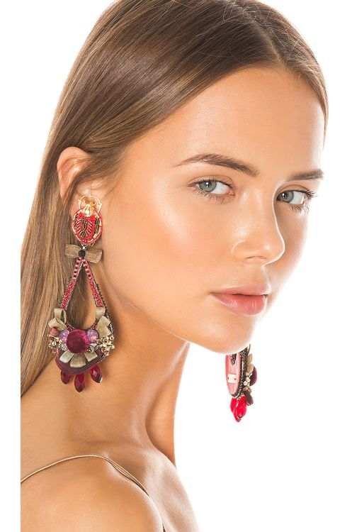 Ranjana Khan Amun Earrings