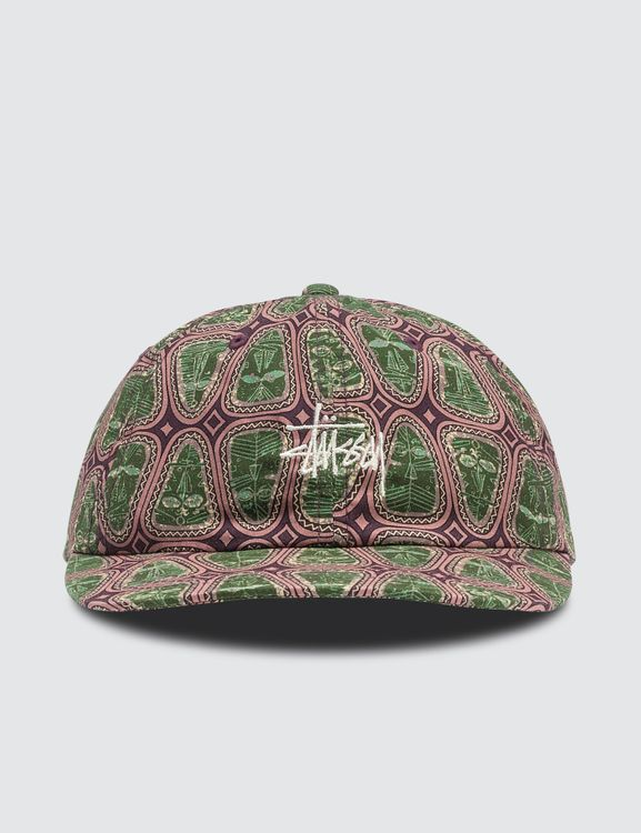 Stussy Mask Pattern Low Pro Cap
