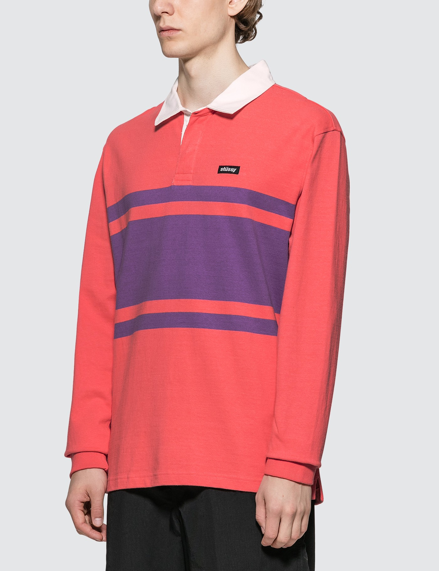 Stussy Stanley Long Sleeve Rugby