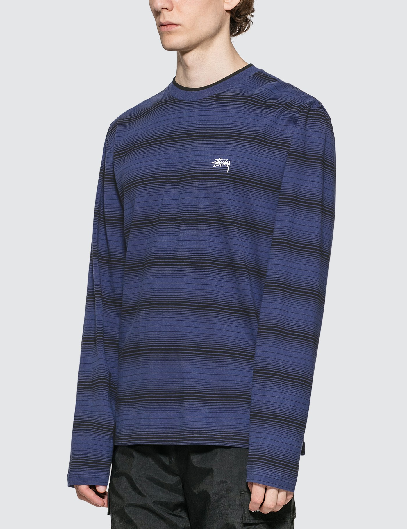 Stussy Ombre Long Sleeve T-shirt
