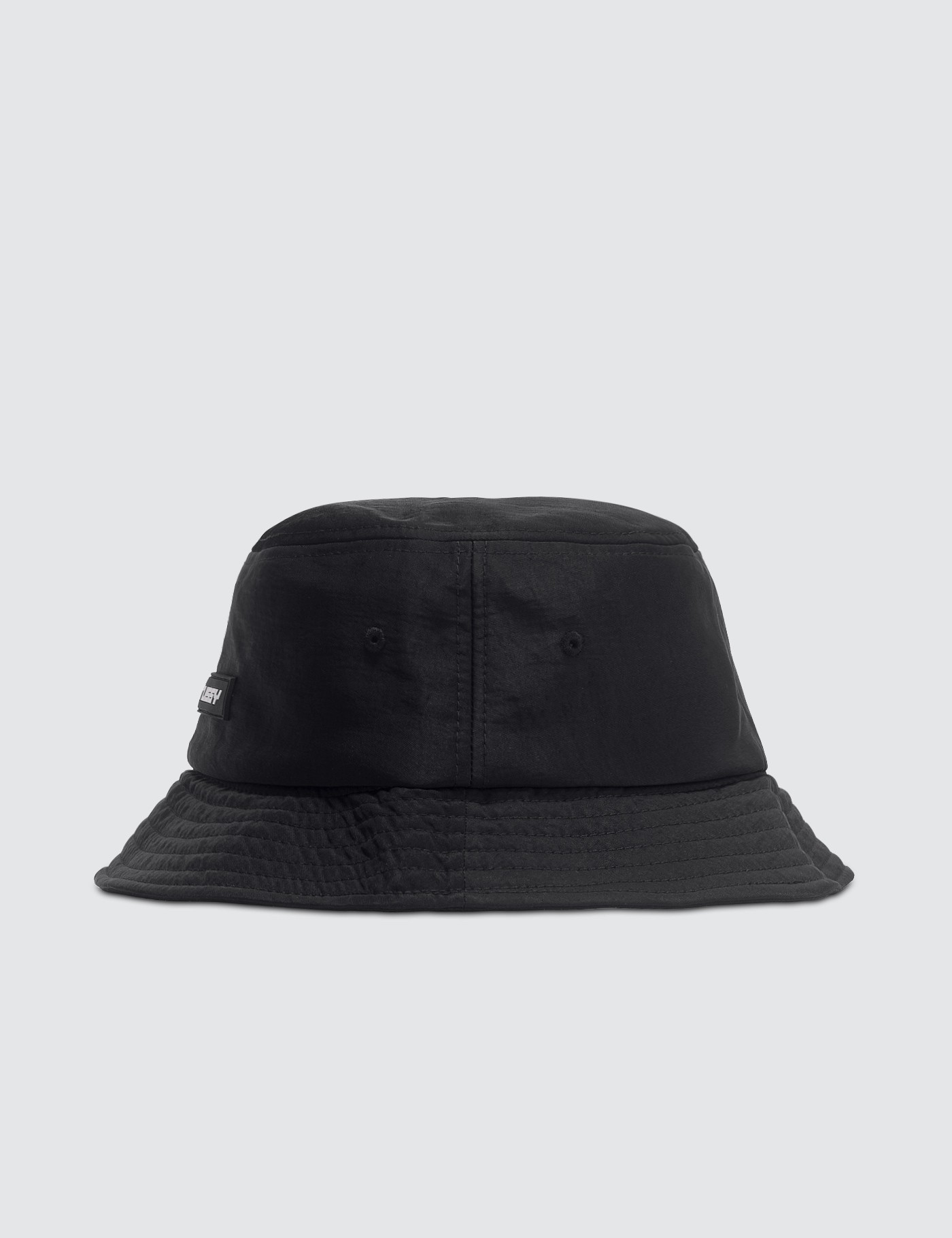 95694eae5 Nylon Rubber Patch Bucket Hat, Stussy