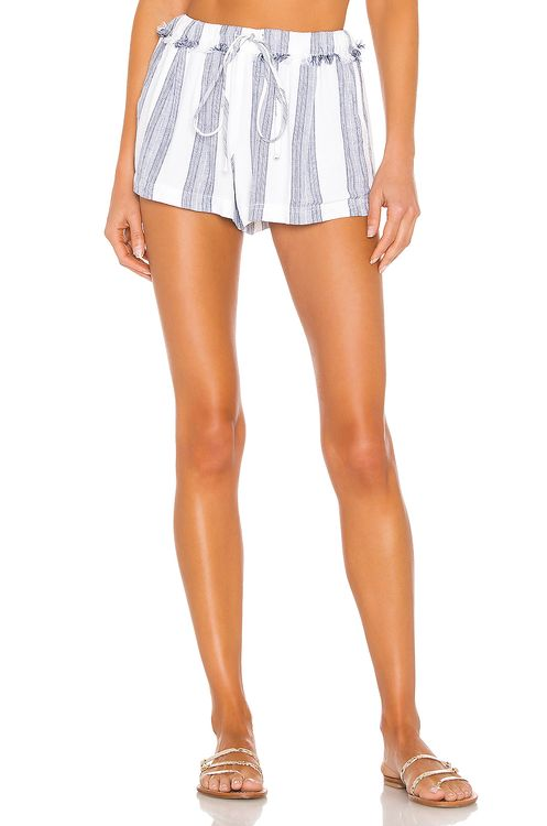 Bella Dahl Frayed Waistband Short