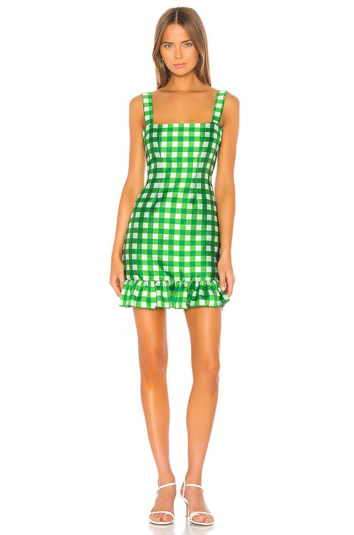 Cynthia Rowley Stella Gingham Mini Dress