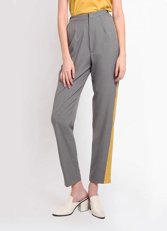 Hyde Issey Side Pocket Pants - Gray