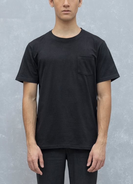 Fabian Nasution Short sleeve pocket tee - Black