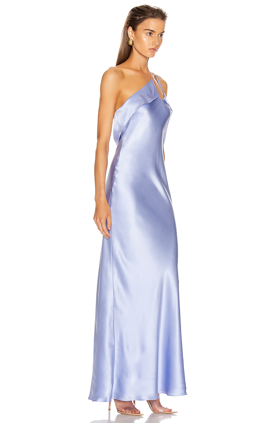 Michelle Mason Gown with Arm Drape