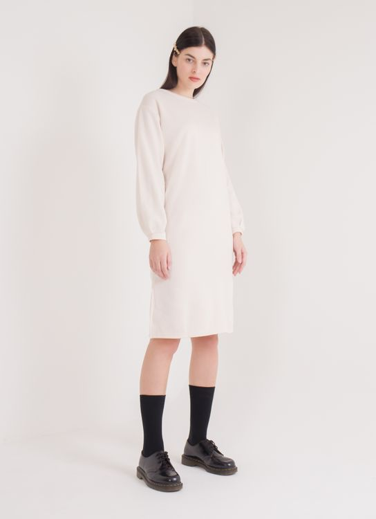 E-hyphen World Gallery Grace Dress - Ivory