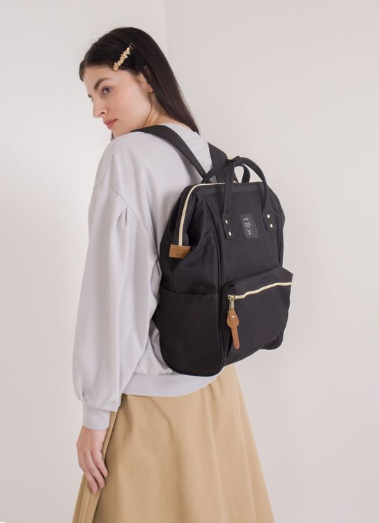 Earth, Music & Ecology Earth x Anello Backpack - Black