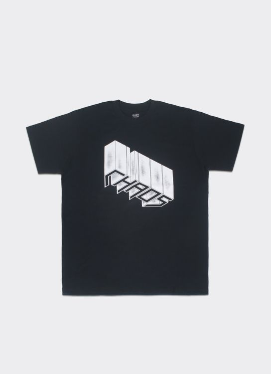 Quiet & Wait Chaos T-Shirt - Black