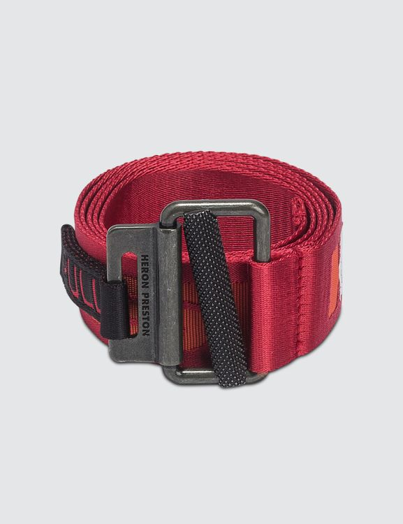 Heron Preston KK Tape Belt