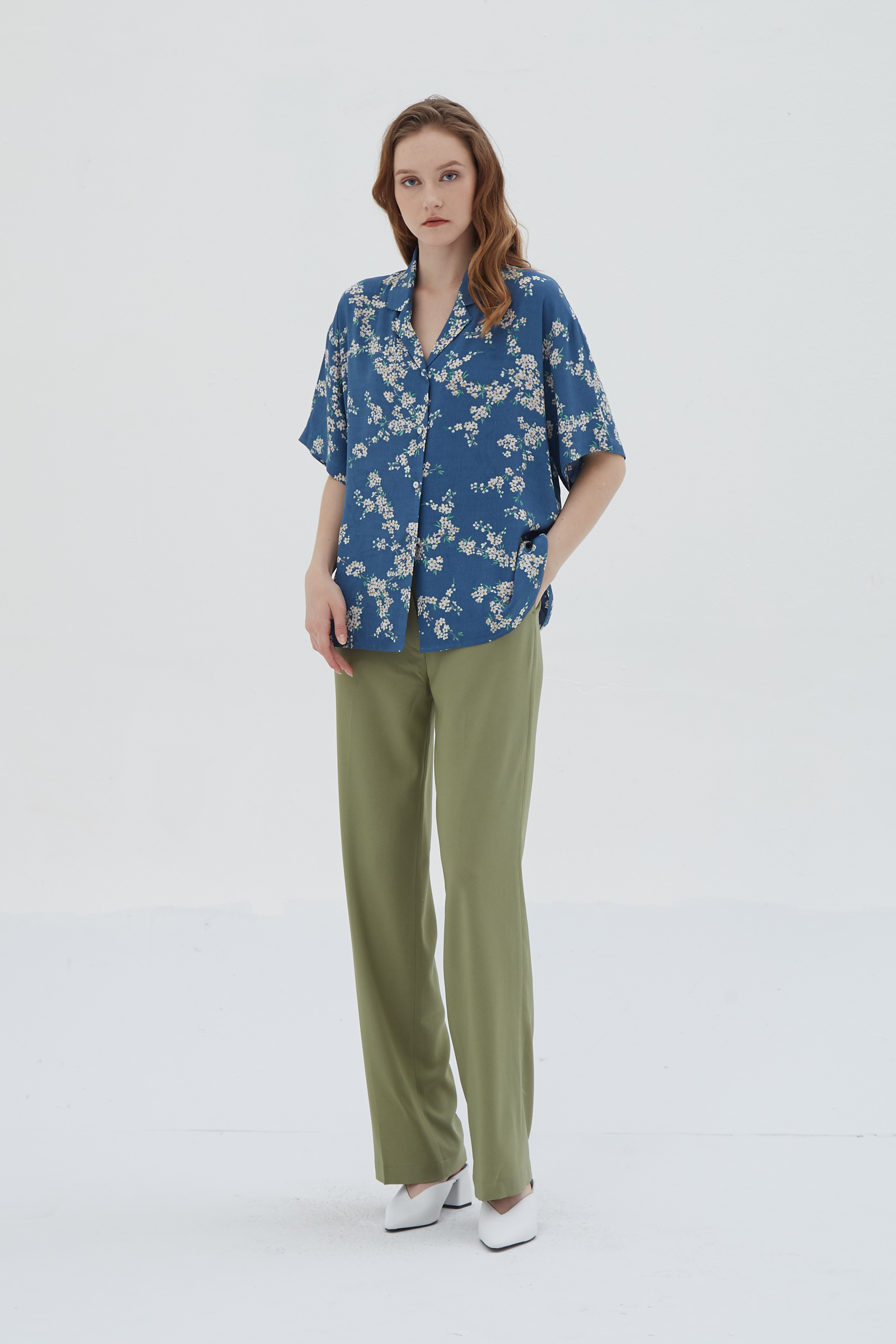 Shopatvelvet Edition Trousers Sage