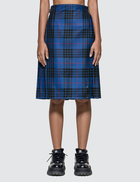 Le Kilt Blue Morgan Tartan 25-inch Skirt
