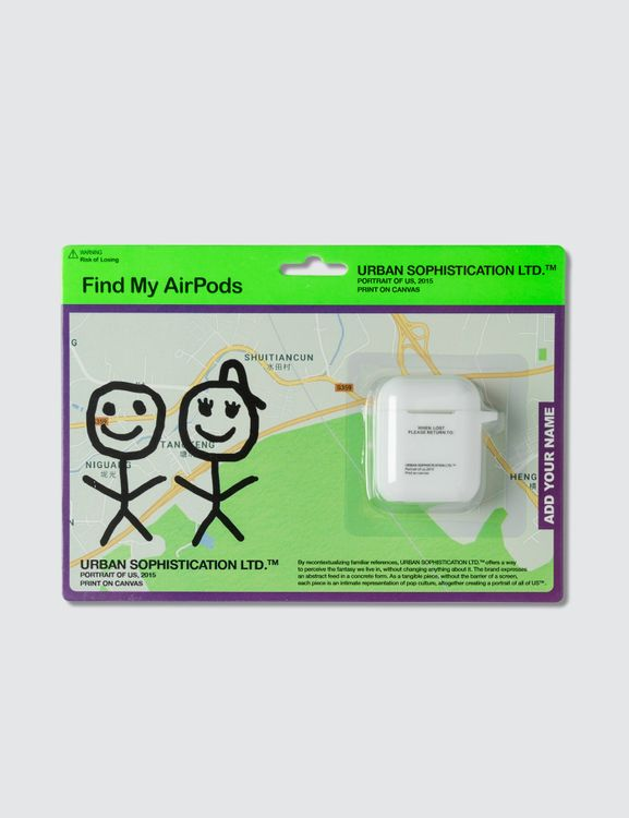 Urban Sophistication Risk of Losing AirPods Case