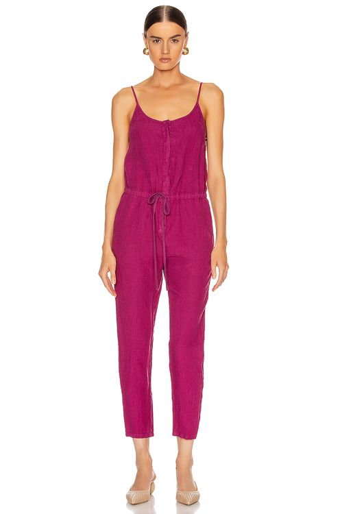 ENZA COSTA Strappy Jumpsuit