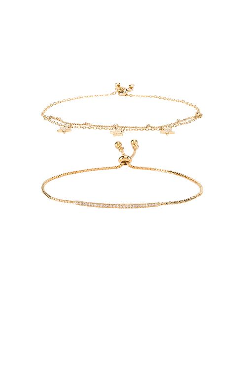EIGHT by GJENMI JEWELRY Sparkle Bracelet Set