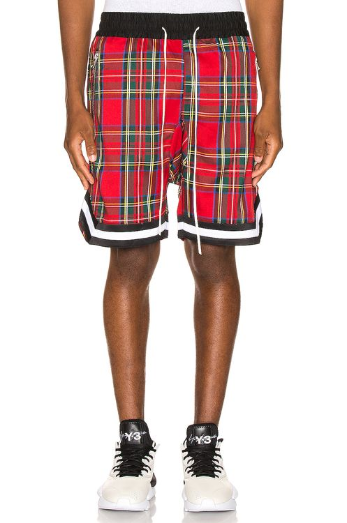 Crysp Denim Plaid Jordan Ball Shorts