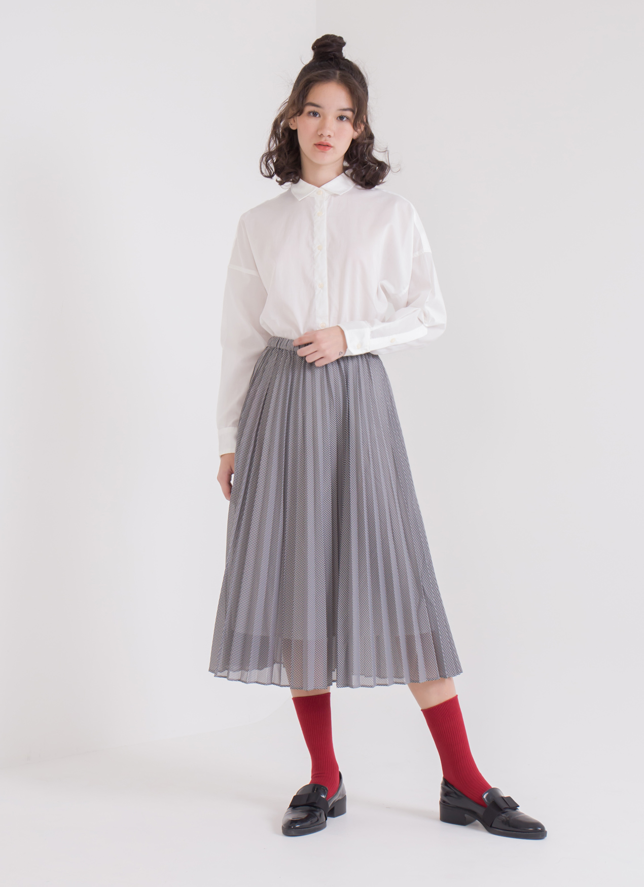 American Holic Jordan Skirt - Gingham Check
