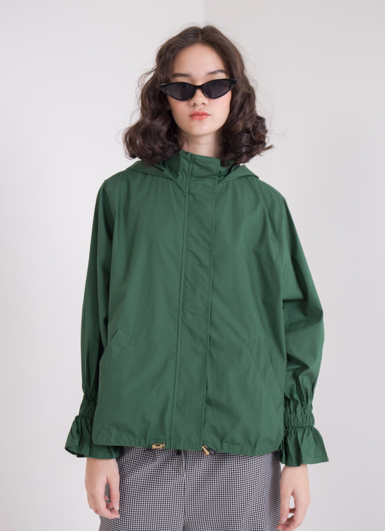 Earth, Music & Ecology Ella Jacket - Green