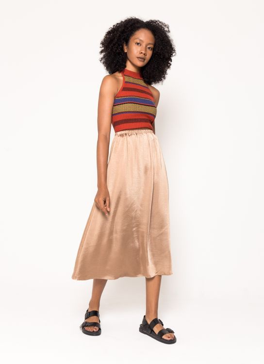 BOWN Jessica Skirt - Apricot
