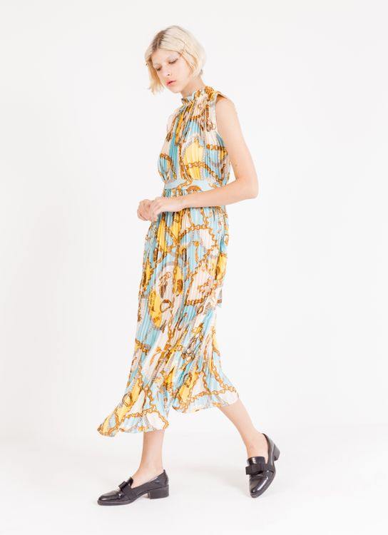 BOWN Tyra Dress - Light Blue