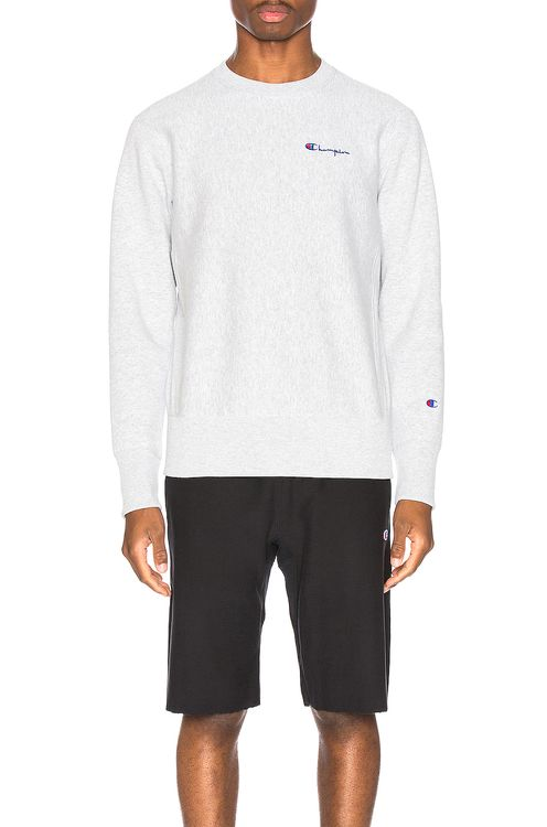 Champion Reverse Weave Small Script Sweatshirt