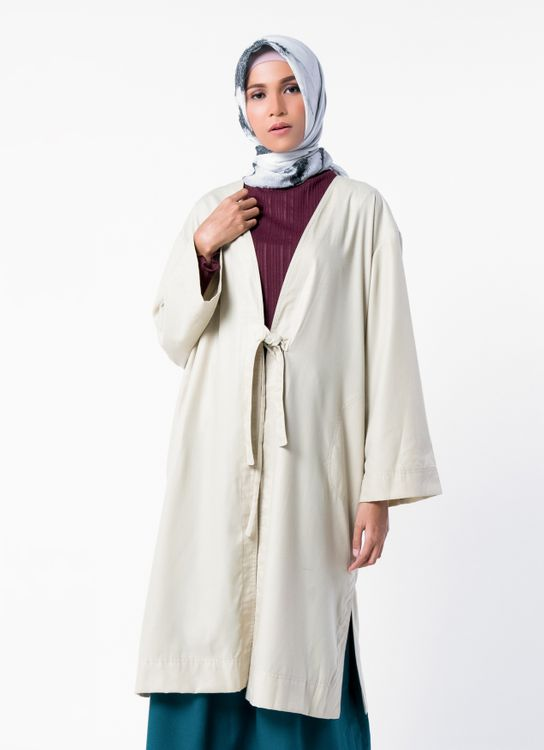 Sayee Parka Outer - Beige