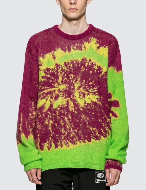 MISBHV Tie Dye Knitted Sweater